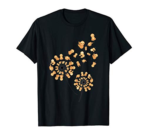 Sloth Dandelion Flower T-shirt Sloth Shirt Lovers Gifts