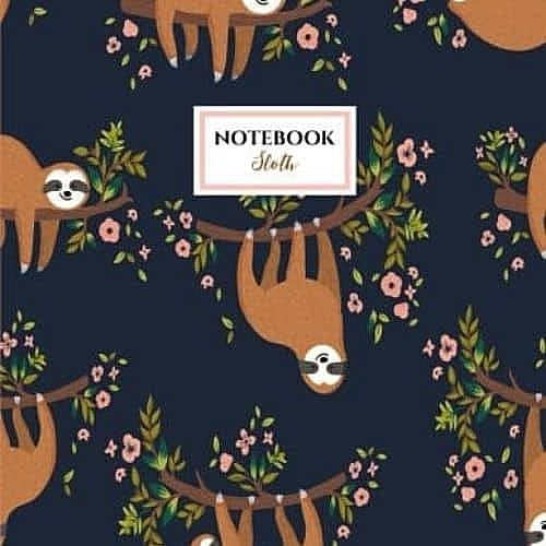 Cute-and-Delightful-Sloth-Large-Notebook