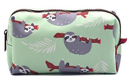 Large Sloth Multi-Purpose Makeup Bag