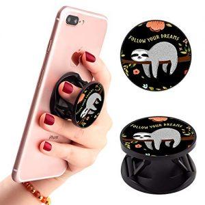 Novelty Sloth Cellphone Finger Portable Stand Holder