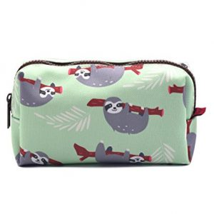 Sloth Multi Purpose Makeup Bag