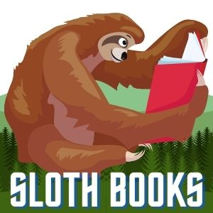 Sloths Books Sloth Reading a Book Sloth of The Day