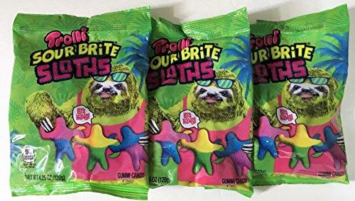 Trolli Sloth Sour Brite Gummi Candy