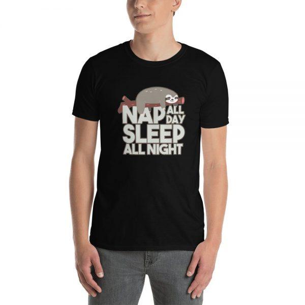 Sloth Nap All Day Sleep All Night Sloth Men Shirt