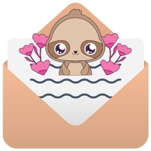 Sloth of The Day Mailing List Logo