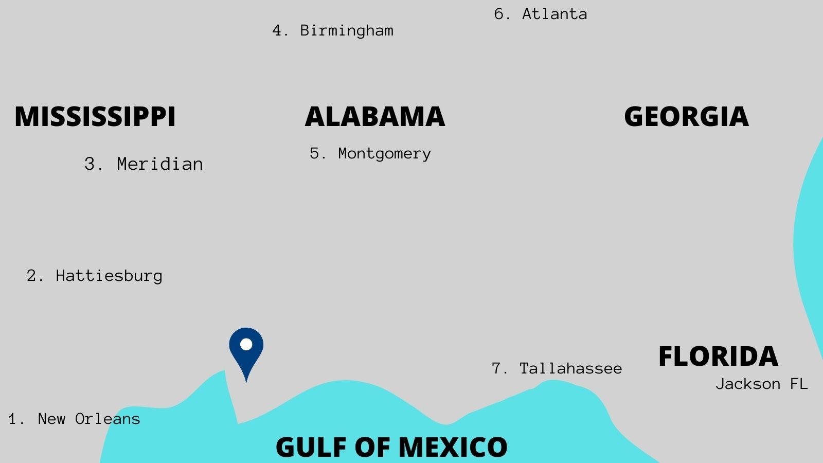 Alabama Gulf Coast Zoo Map Directions