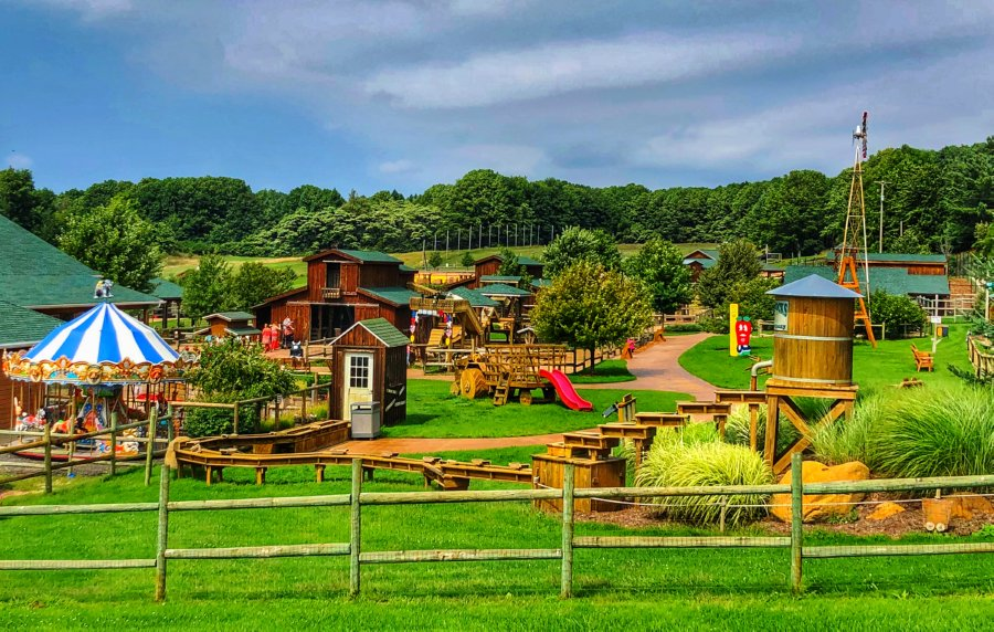 Farm View Front - Learn About The Lewis Adventure Farm and Zoo