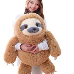 Giant Fluffy Sloth Stuffed Animal for Kids