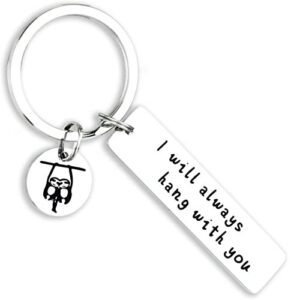 Jewelry Funny Sloth Themed Keychain Gift