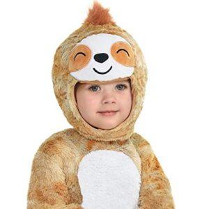 Kids Adorable Sloth Costume With Hood