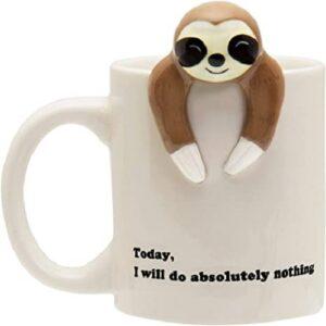 Sloth Do Nothing Today Coffee Mug