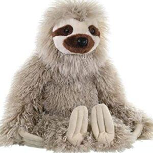 Three Toed 12 Inch Sloth Stuffed Animal