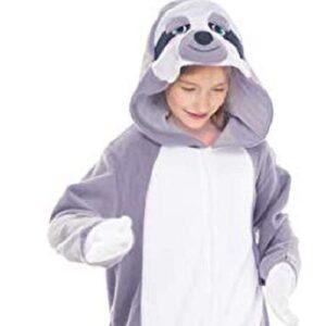 Warm One Piece Sloth Animal Costume
